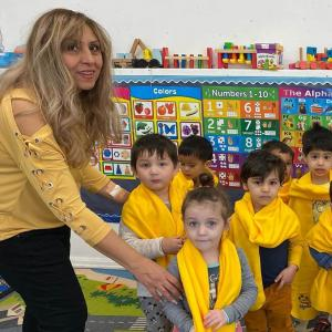 Bonnie Academy celebrating yellow day ☀️ #schoolchoiceweek #preschool #glendalepreschool #glendaydaycare #bestchildcareglendale (14)