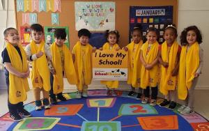 Bonnie Academy celebrating yellow day ☀️ #schoolchoiceweek #preschool #glendalepreschool #glendaydaycare #bestchildcareglendale