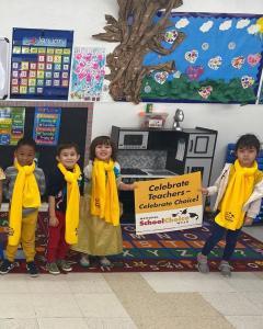 Bonnie Academy celebrating yellow day ☀️ #schoolchoiceweek #preschool #glendalepreschool #glendaydaycare #bestchildcareglendale (24)
