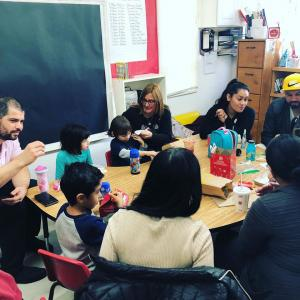 Have Lunch With Your Child event in Miss Elizabeth'sNina's classroom. #glendalechildcare #havelunchwithyourchild (5)