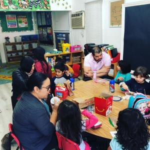 Have Lunch With Your Child event in Miss Elizabeth'sNina's classroom. #glendalechildcare #havelunchwithyourchild (3)