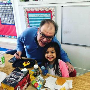 Have Lunch With Your Child event in Ms. Adrina's classroom. #glendalechildcare #kindergarten #havelunchwithyourchild (6)
